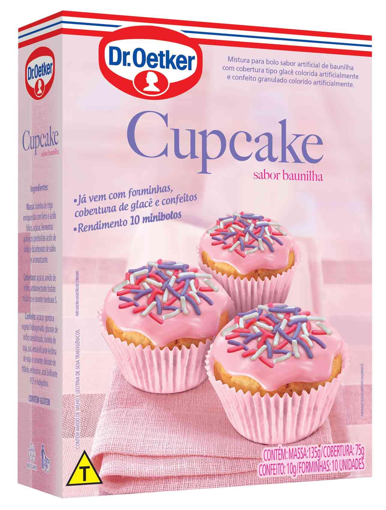 Mistura Cupcake