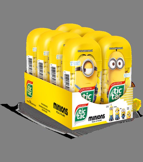 Tic Tac Edição Especial Minions
