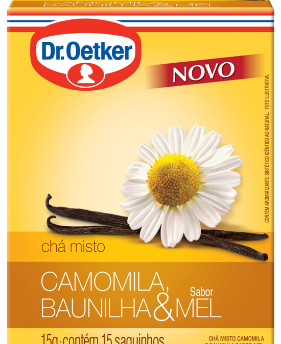 Chá de Camomila Dr. Oetker