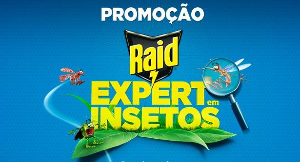 Promoção Raid Expert em Insetos