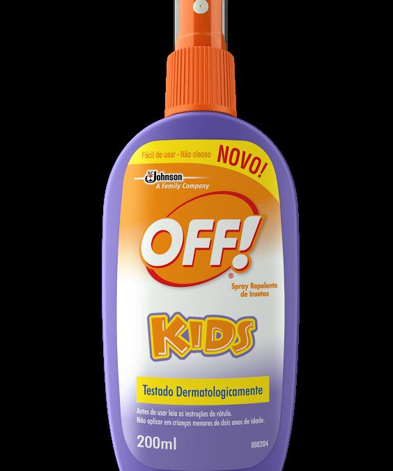 Lançamento na linha Kids da Off!
