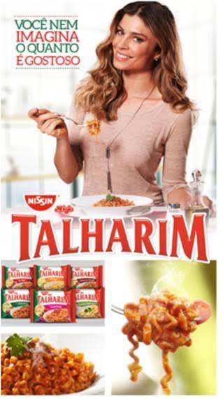 Campanha Talharim com Grazi Massafera